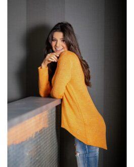 Moteriškas megztinis GUSTO oranžinis