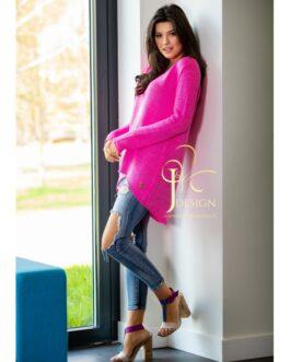Moteriškas megztinis GUSTO rožinis