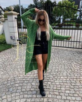 Moteriškas megztinis CARMEN (Žalias)